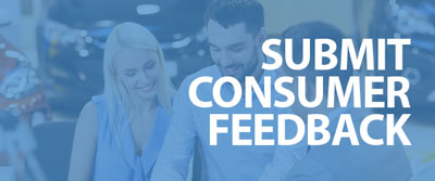 Feedback form for consumers